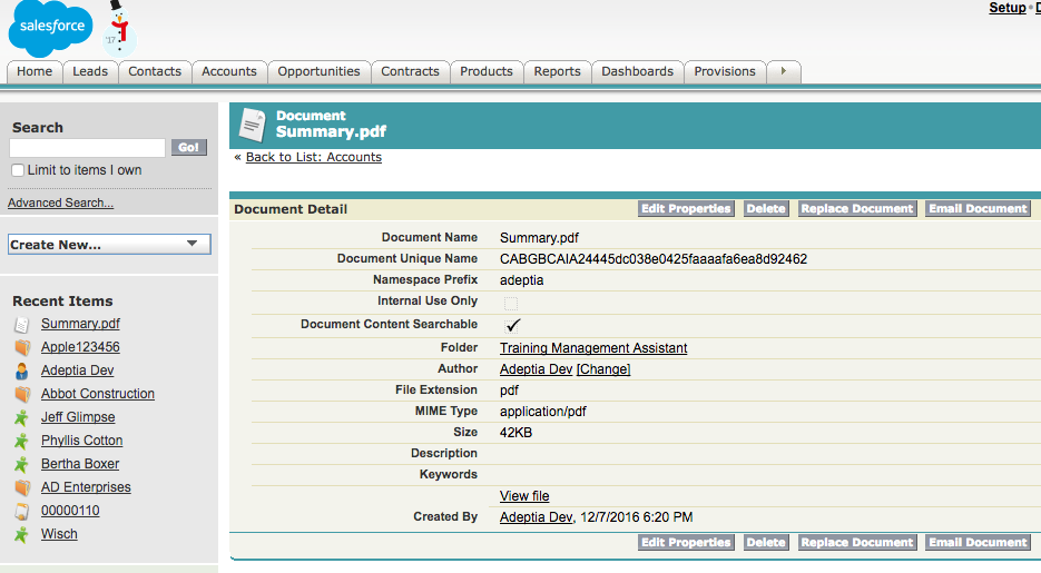 Uploading and Attaching documents with Salesforce SOAP API